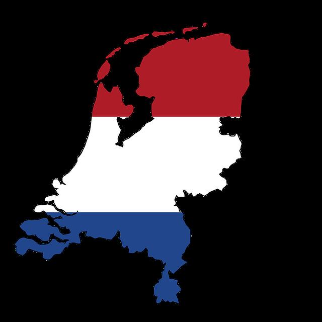 Free illustration Netherlands Map Land Borders