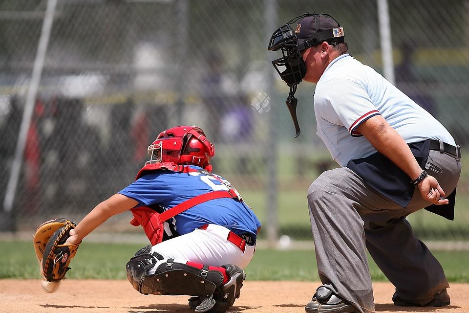 Free photo: Baseball, Catcher, Umpire, Sport