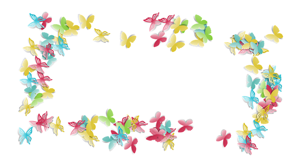 Butterfly Colorful Fun Free Image On Pixabay