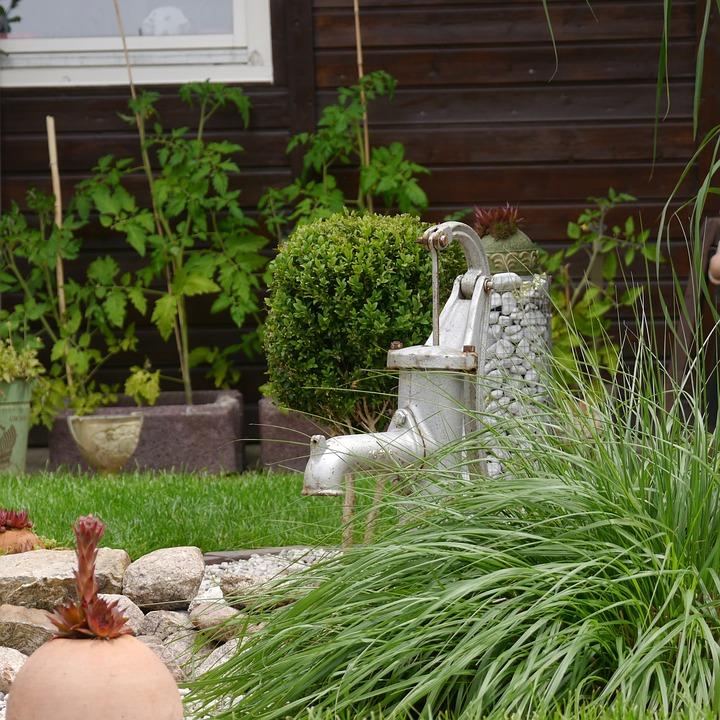 Garten Brunnen Gartengestaltung