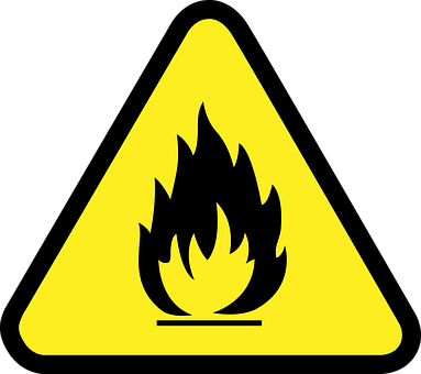 fire safety warning
