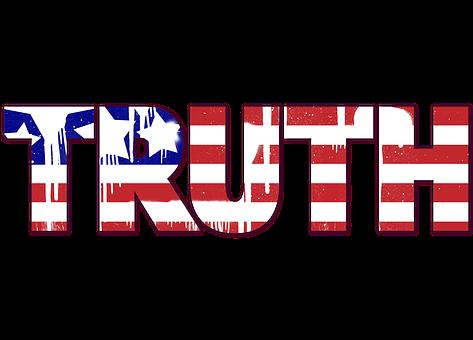 Usa, Us Flag, Truth, Spray Paint