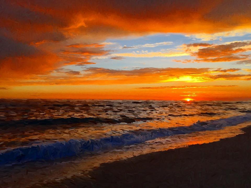 sunset beach san - photo #16