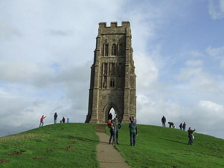 Glastonbury, Tor, Somerset, England
