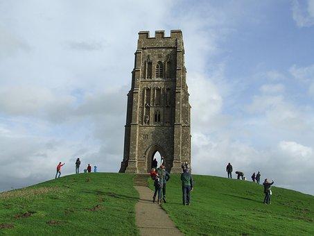 Glastonbury, Tor, Somerset, England