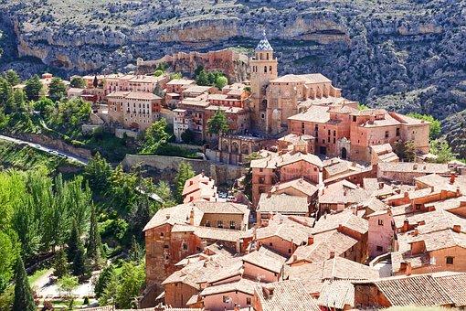 Vista panorámica de Albarracín Teruel