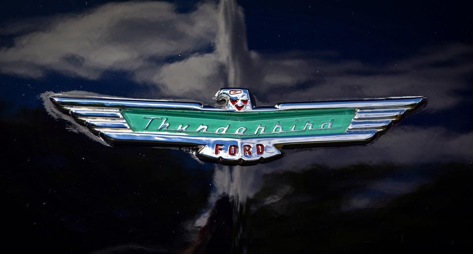 Brand Thunderbird Ford Free Photo On Pixabay