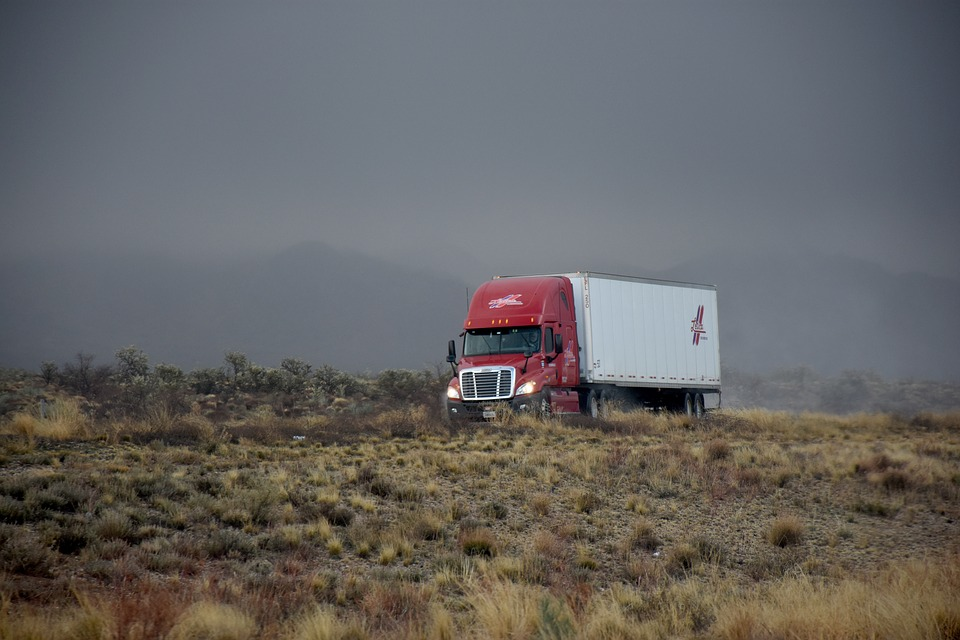 Transporte, Condução, Freeway, Caminhões, Rodovia