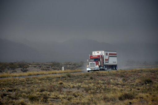 Transporte, Conducir, Autovía, Camiones
