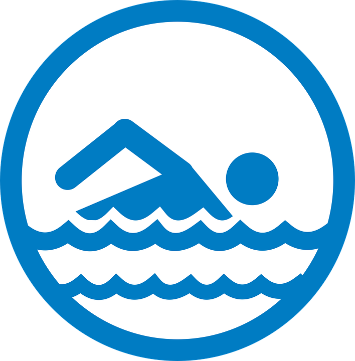 Pool Signs Swimmer - Free image on Pixabay
