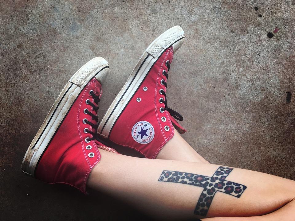 Gratis · Zapatos En Pixabay Foto Tatuajes Converse Los XwBzUxq4OX