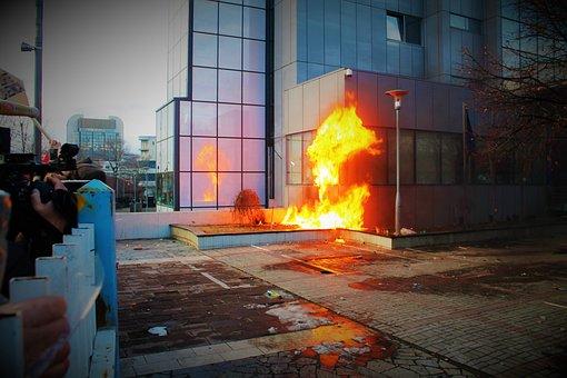 Protest, Vandalism, Riot, Danger