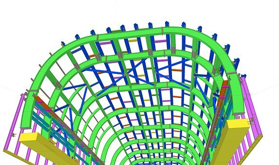 Architecture, Blueprints, 3D, Building