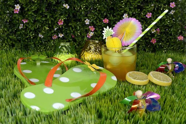 Garden Party Drink Tea Lights 183 Free Photo On Pixabay