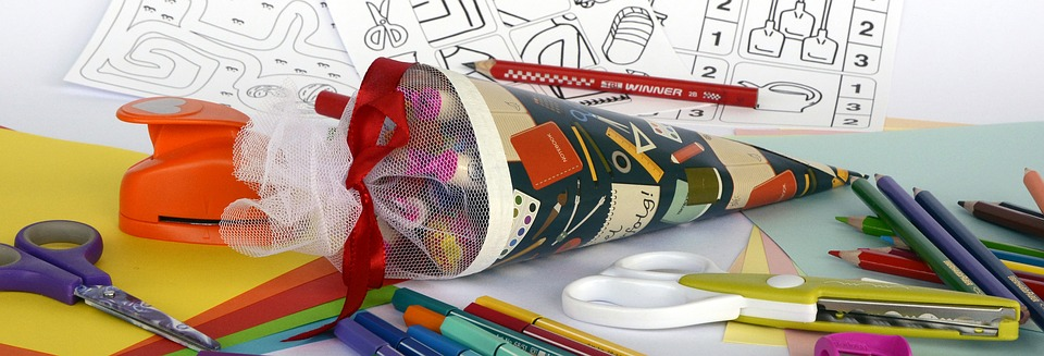 Schultüte, Zuckertüte, Schulanfang, Einschulung, Schule
