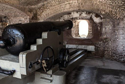 Cannon, Fort Sumter, South Carolina