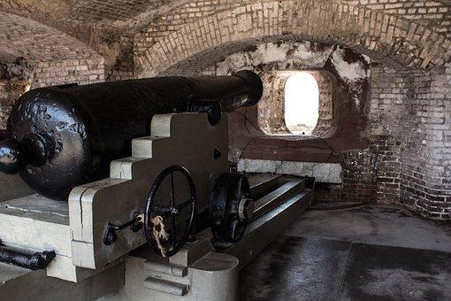 Cannon, Fort Sumter, South Carolina