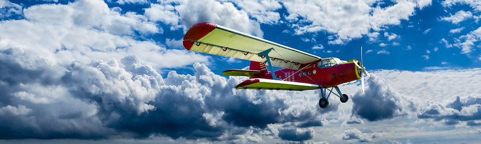 航空機, プロペラ, 翼, 飛行, ダブルデッカー, アントノフ, 航空, プロペラ機, 離陸, 空, 雲