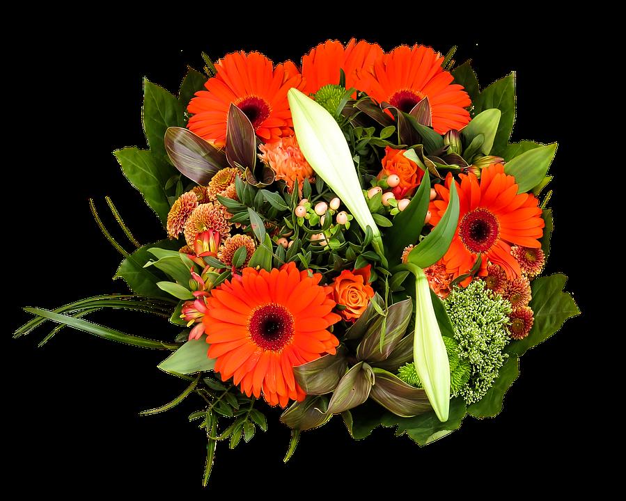 Free photo birthday bouquet bouquet png free image on for Bouquet de fleurs un