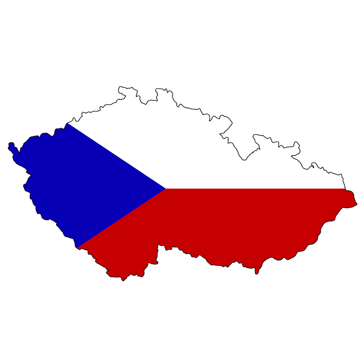 Tschechien, Flagge