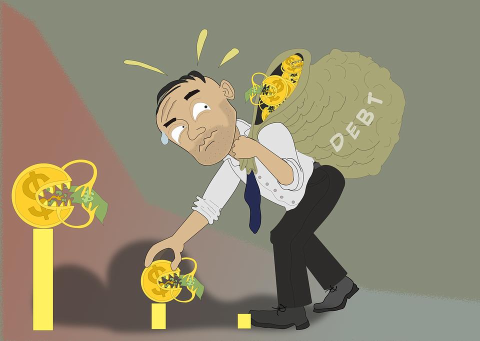 Deuda, Préstamo, Crédito, Dinero, Finanzas, Gastos