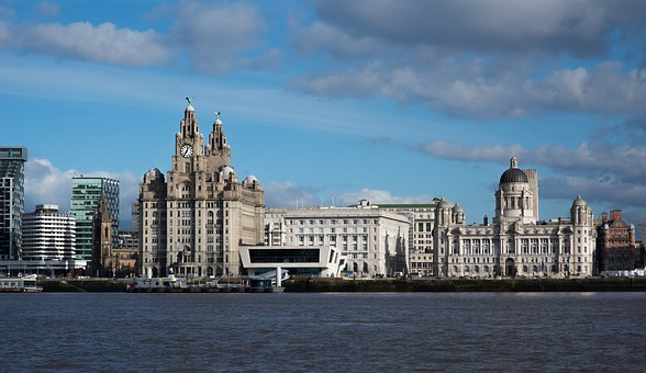Liverpool, Mersey, Liver Building