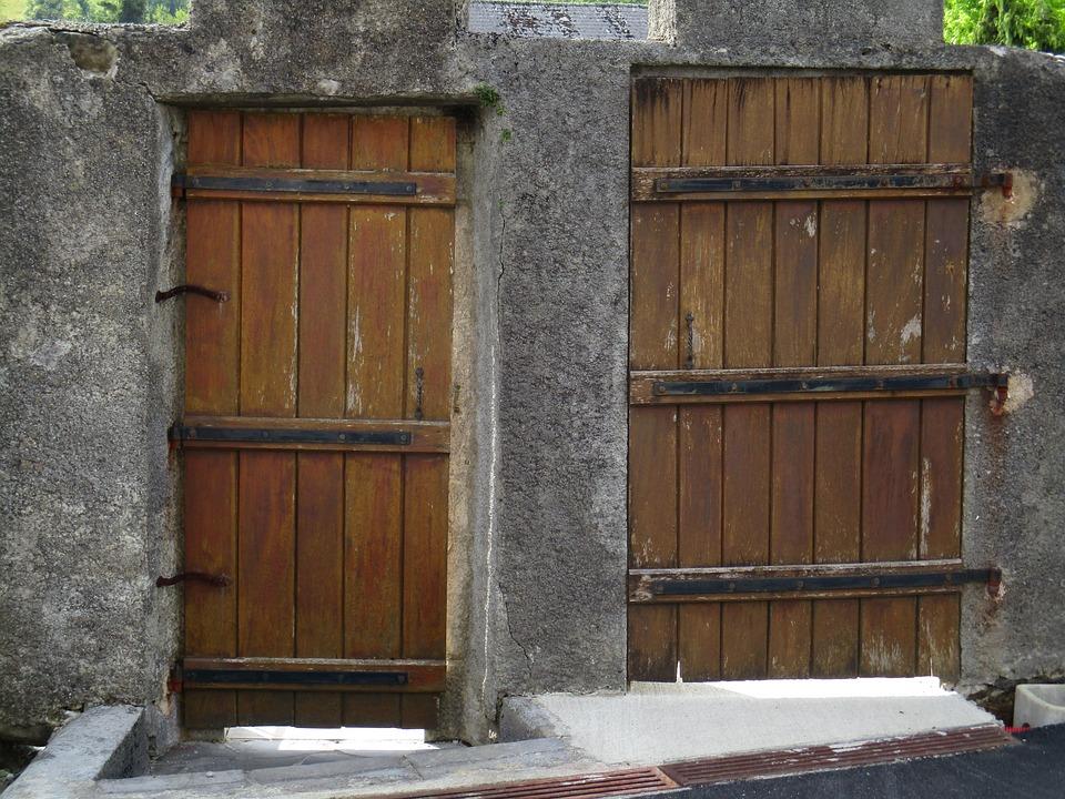 Holztüren  Kostenloses Foto: Holztüren, Tor, Holztür - Kostenloses Bild auf ...