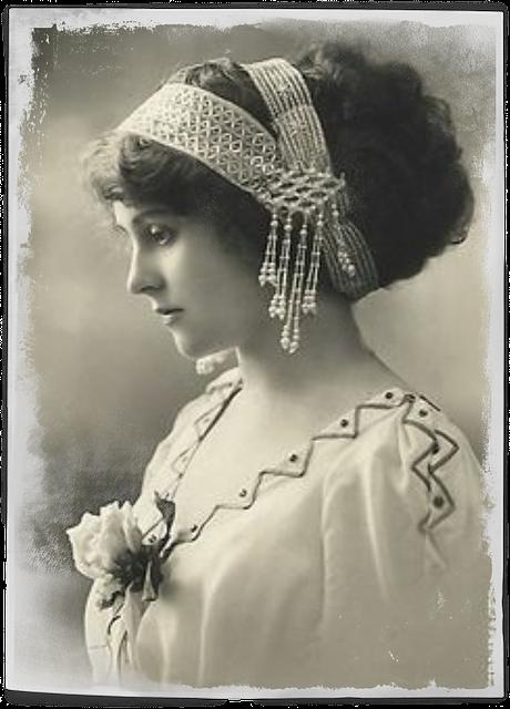 Free Illustration Vintage Woman Art Collage Hair