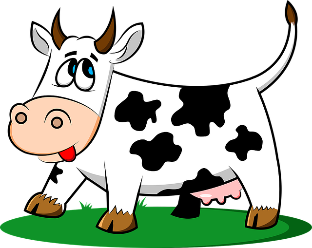 Imagenes Vacas Animadas: Cow Animal Livestock · Free Vector Graphic On Pixabay