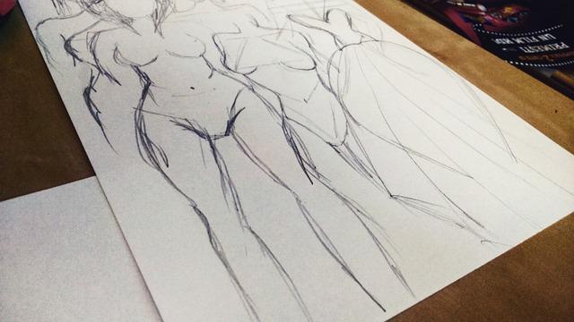 gratis billede tegning skitse blyant krop gratis