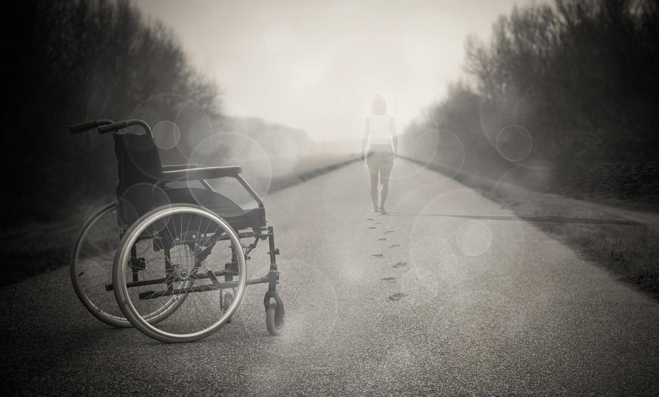 Wheelchair, Inspiration, Love, Angel, Freedom, Faith