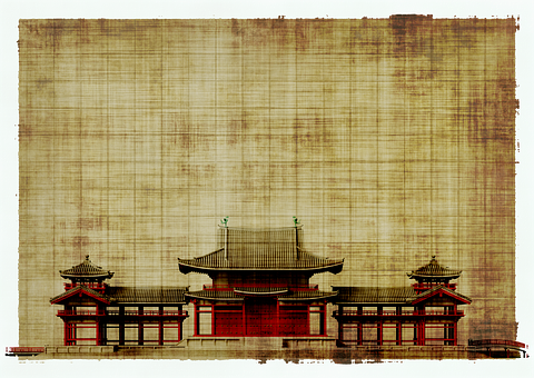 Paper, Parchment, Architecture, Japan