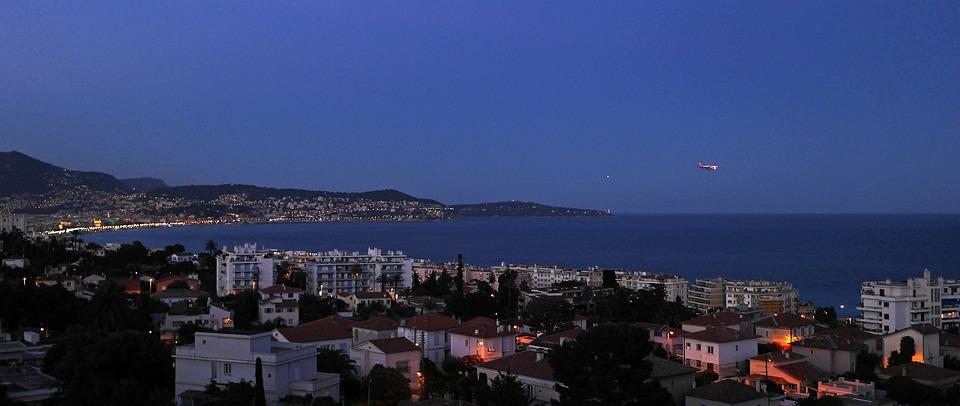 Hora Azul, Bahía De Niza, Flyer, Aterrizaje, Alumbrado