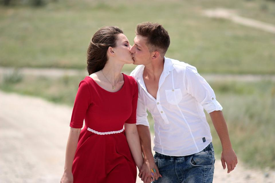 free photo couple love kiss girl boy free image on