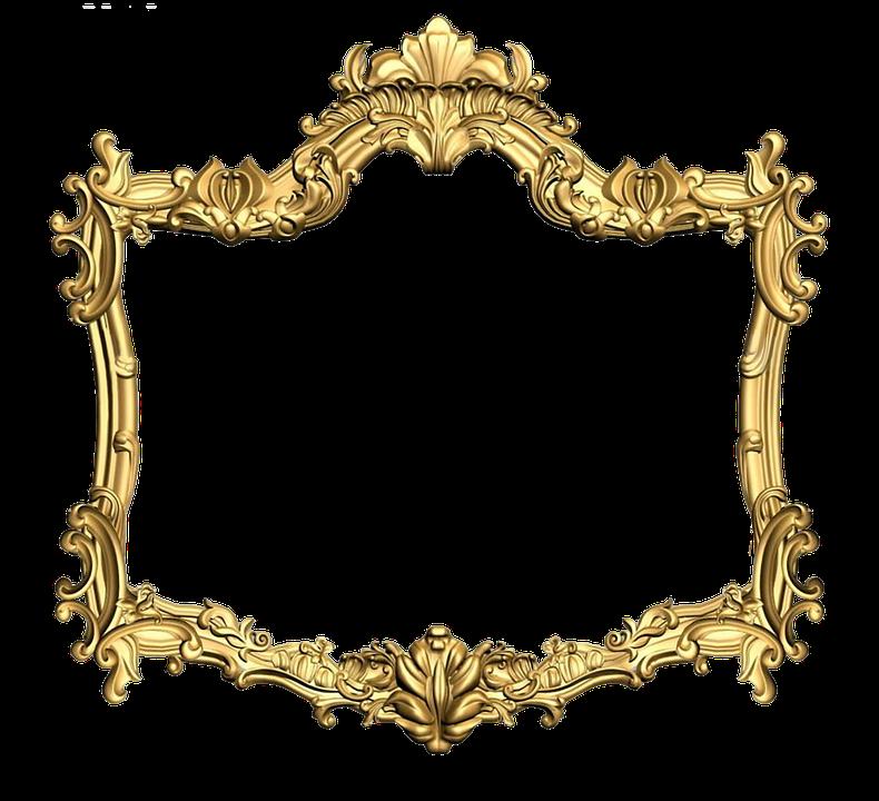 frame carved gold 183 free image on pixabay