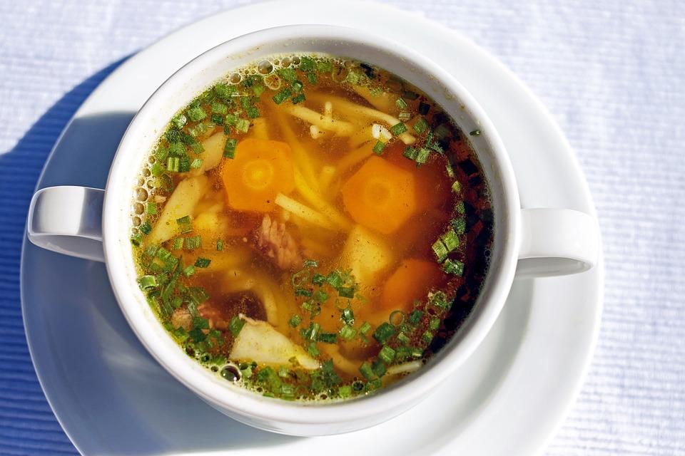 Суп, Суп Из Говядины, Суп С Лапшой, Выгоды От, Баден