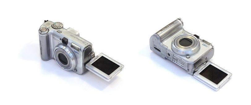 Canon A610, Digital, Camera, Compact