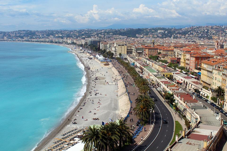 Nizza, Bello, Sud Della Francia, Grande Città