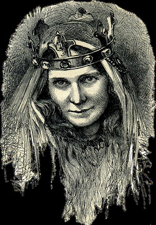Reine Celte, Celtes, Peuple Ancien, Illustration
