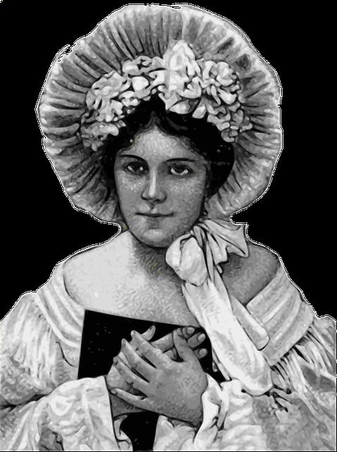 Free Illustration Lady, Vintage, Old Portrait, Face -6172
