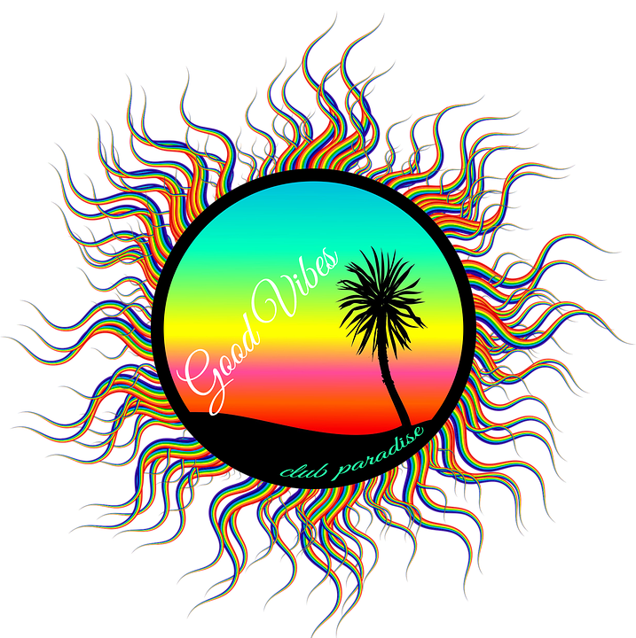 Free Illustration Palm Tree Beach Art Sunset Palm