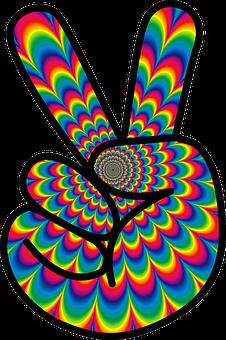 Psychédélique, La Paix, Hippie, 60 S