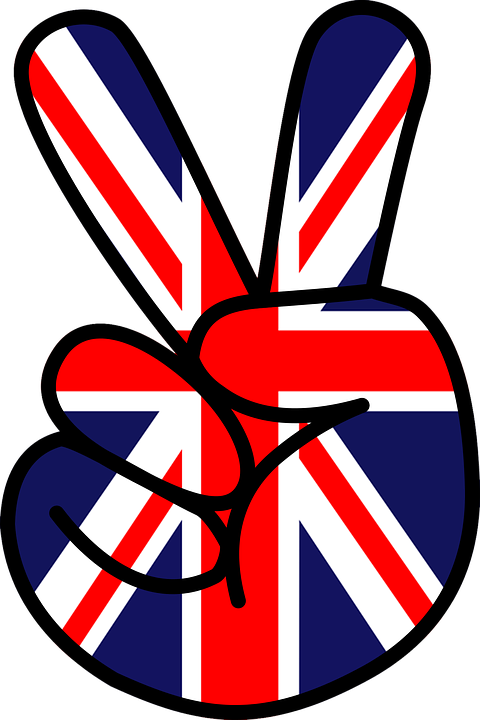 Peace, Victory, Union Jack, Sign