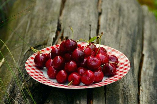 Cherries, Fruits, Sweet Cherry