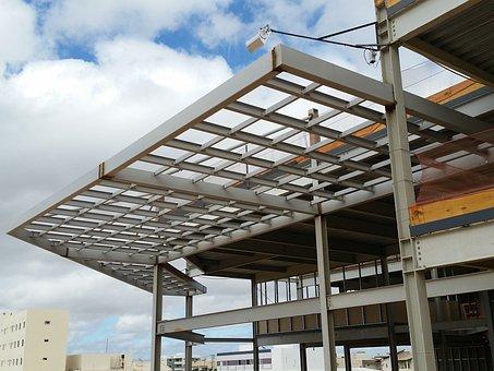 Construção Civil, Estruturas Metálicas