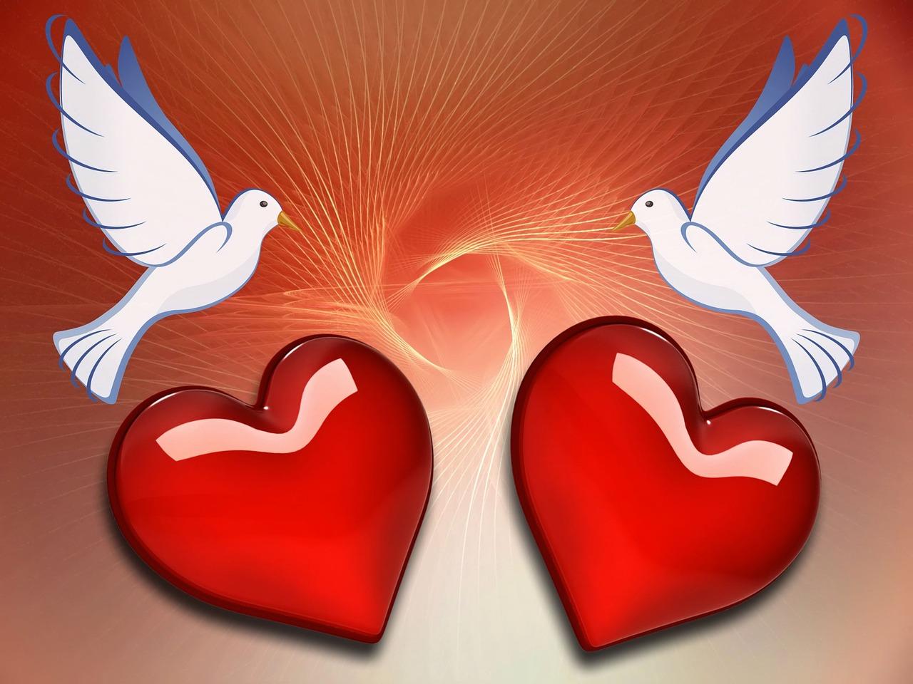 Символ любви открытки
