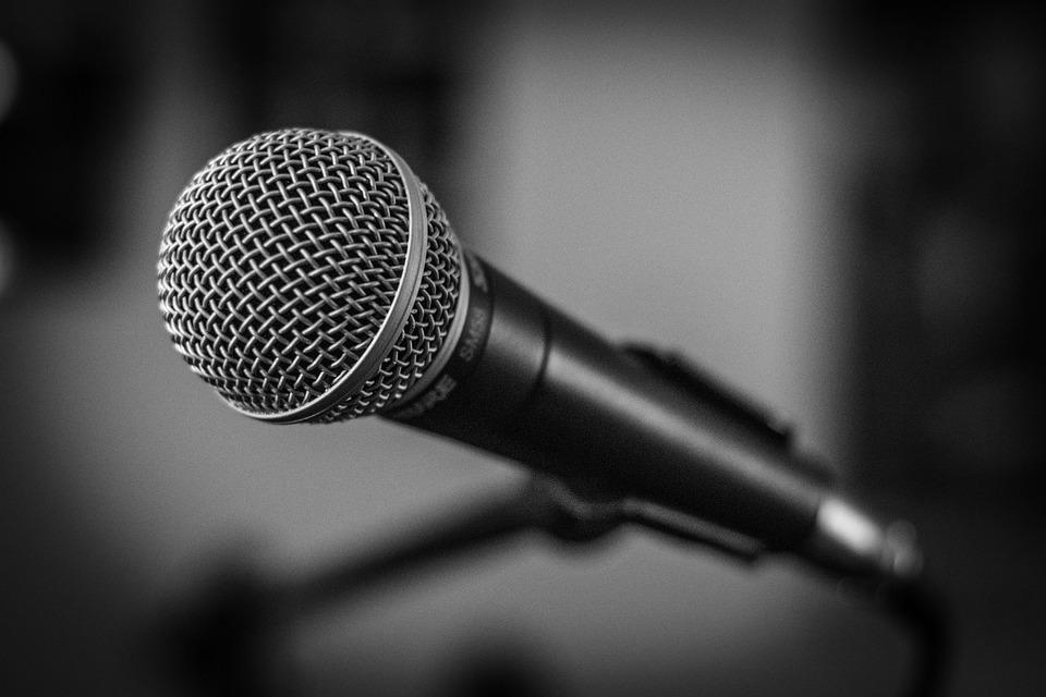 Beliebt Mikrofon Bühne Schwarzweiß · Kostenloses Foto auf Pixabay AU68