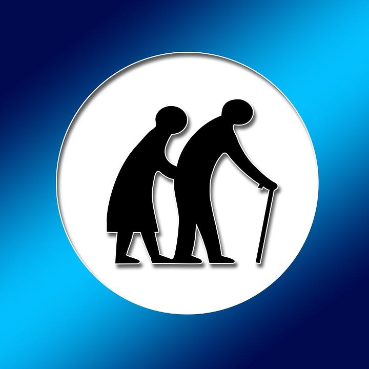 Wohnen mit Hilfe im Alter. Freies Bild via Pixabay
