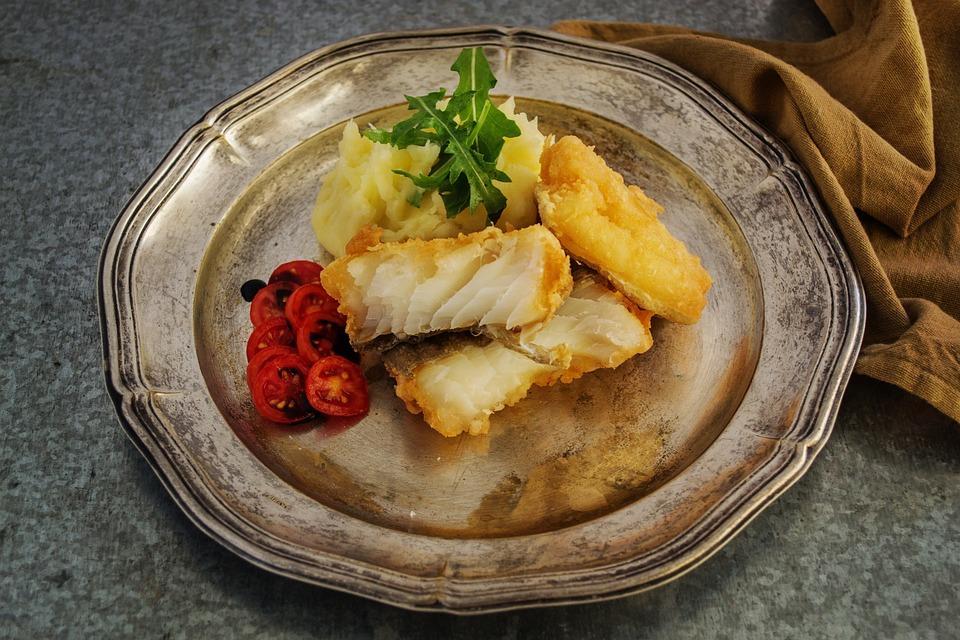 Free Photo Food Fish Fish Fillet Cod Free Image On