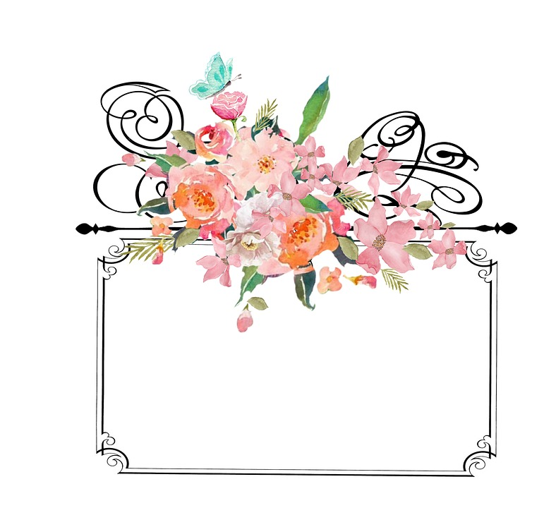 Free illustration  Frame With Flowers, Frame, Vintage   Free Image on Pixabay   1506014